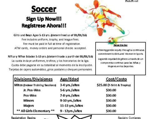 Sign Up for Soccer