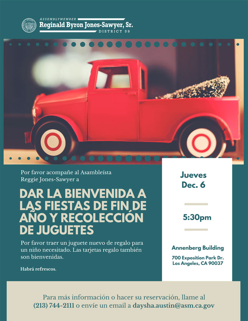 Event flyer in Spanish
