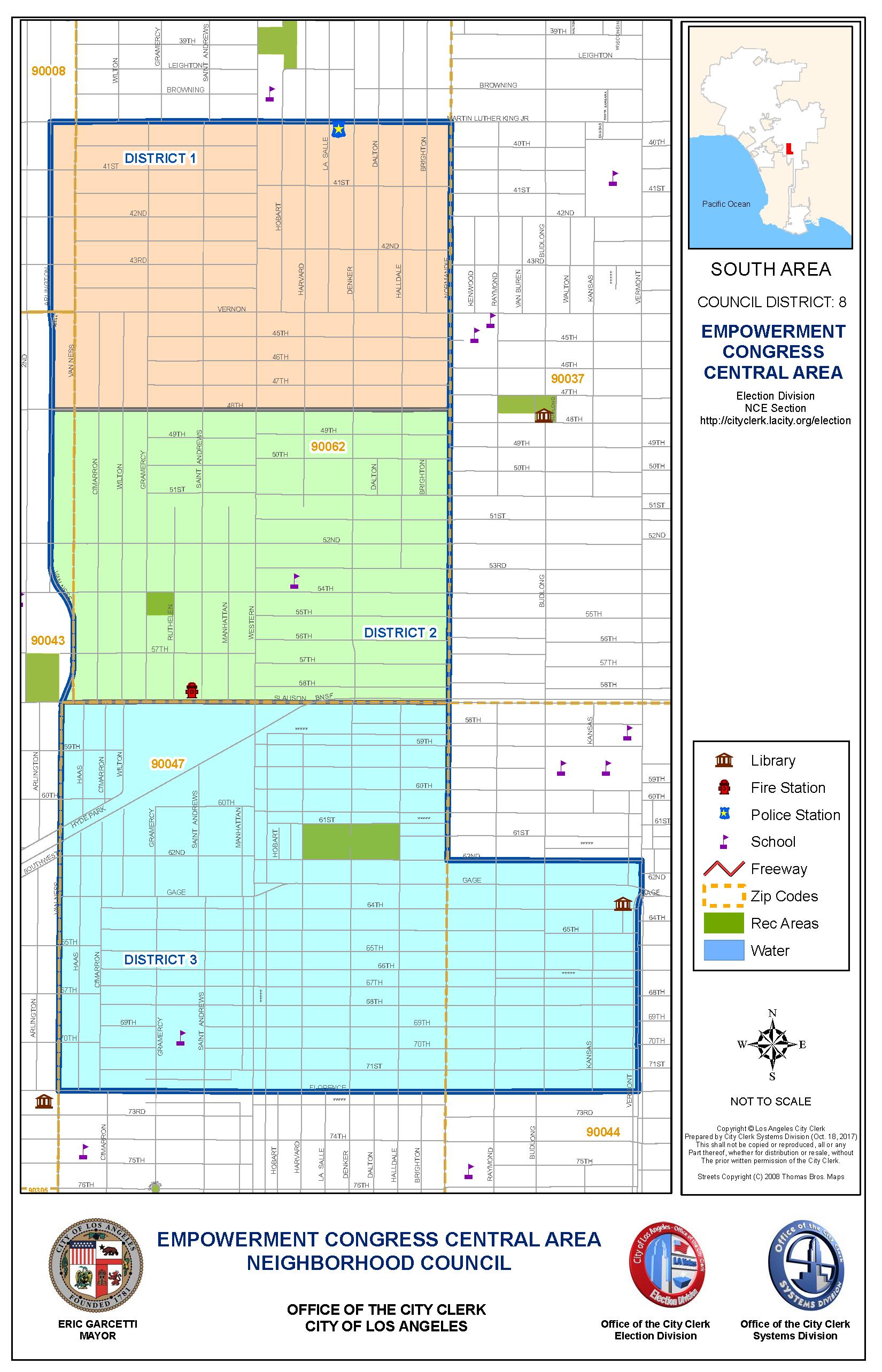 ECCANDC Boundary Map