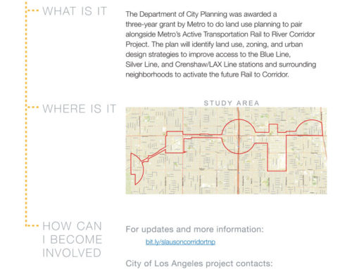 Slauson Corridor Transit Plan
