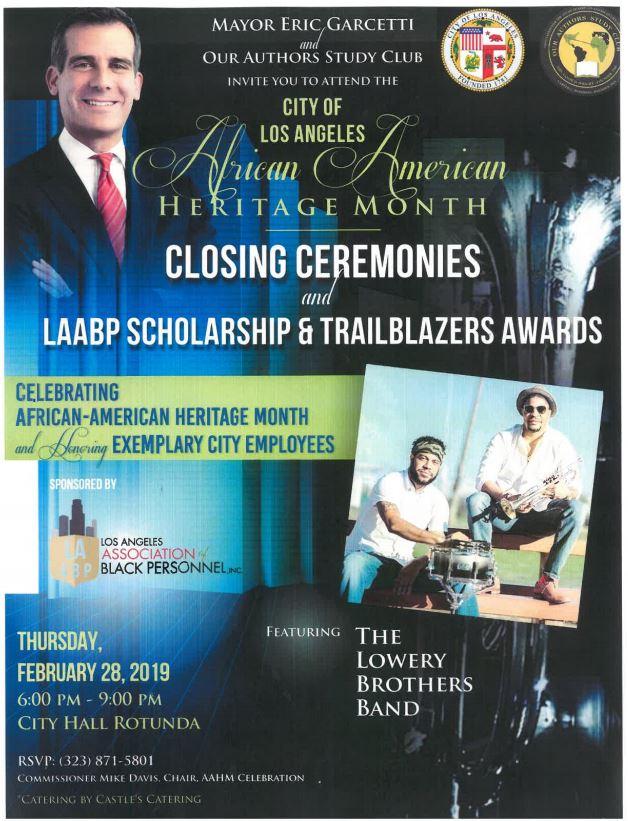 African American Heritage Month Closing Ceremonies