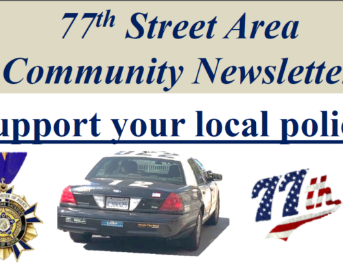 The May Issue of the 77th Street Newsletter Is Here