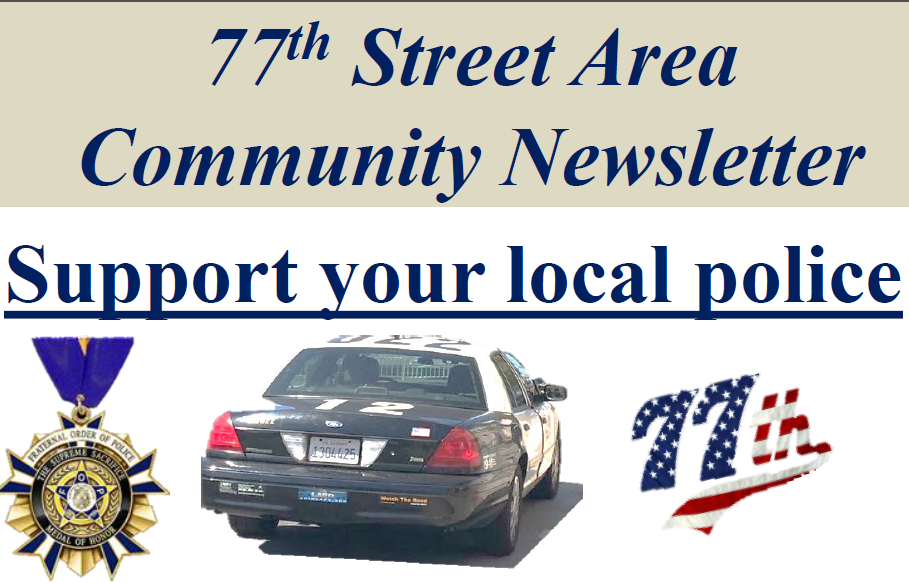 77th Street LAPD Newsletter
