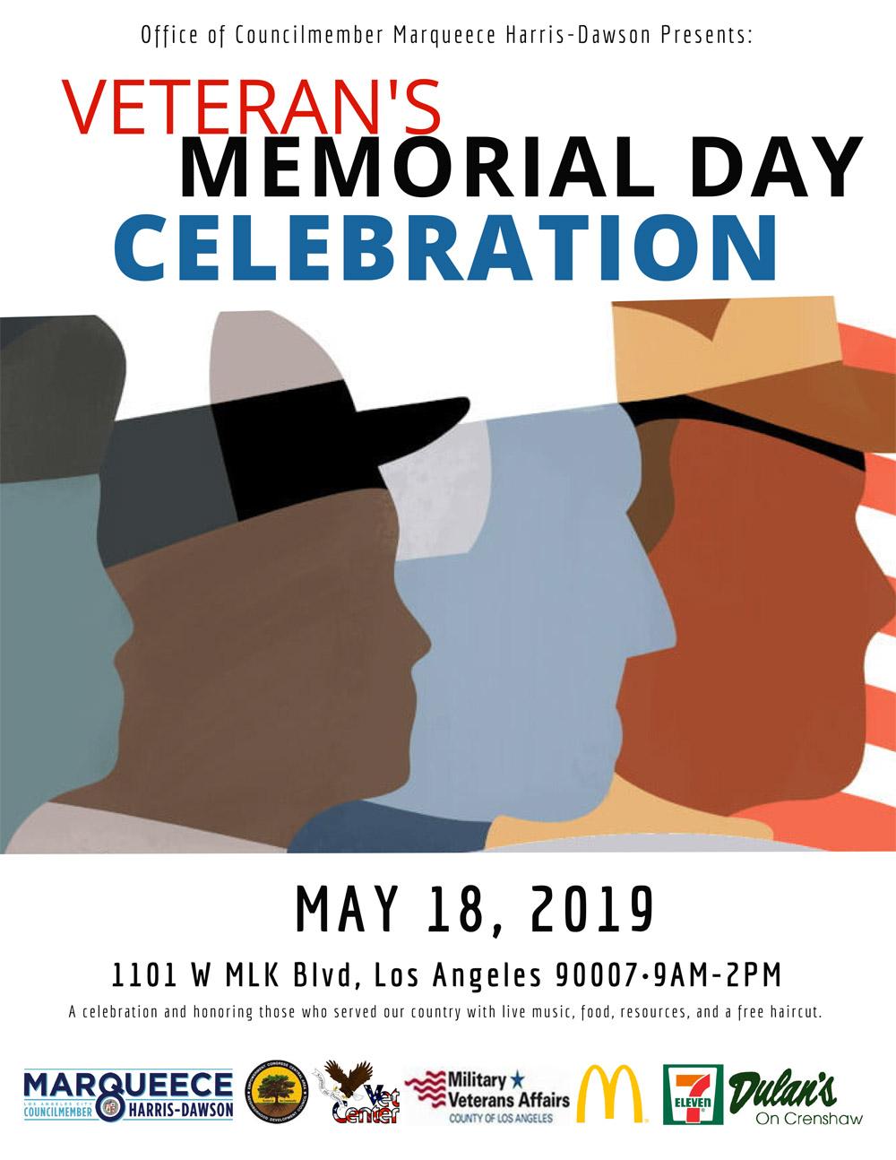 Veteran's Memorial Day Celebration