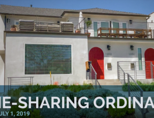 Home Sharing Ordinance in Effect July 1