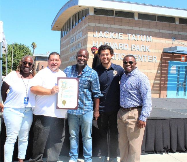Celebrating Harvard Park 2 year safety anniversary