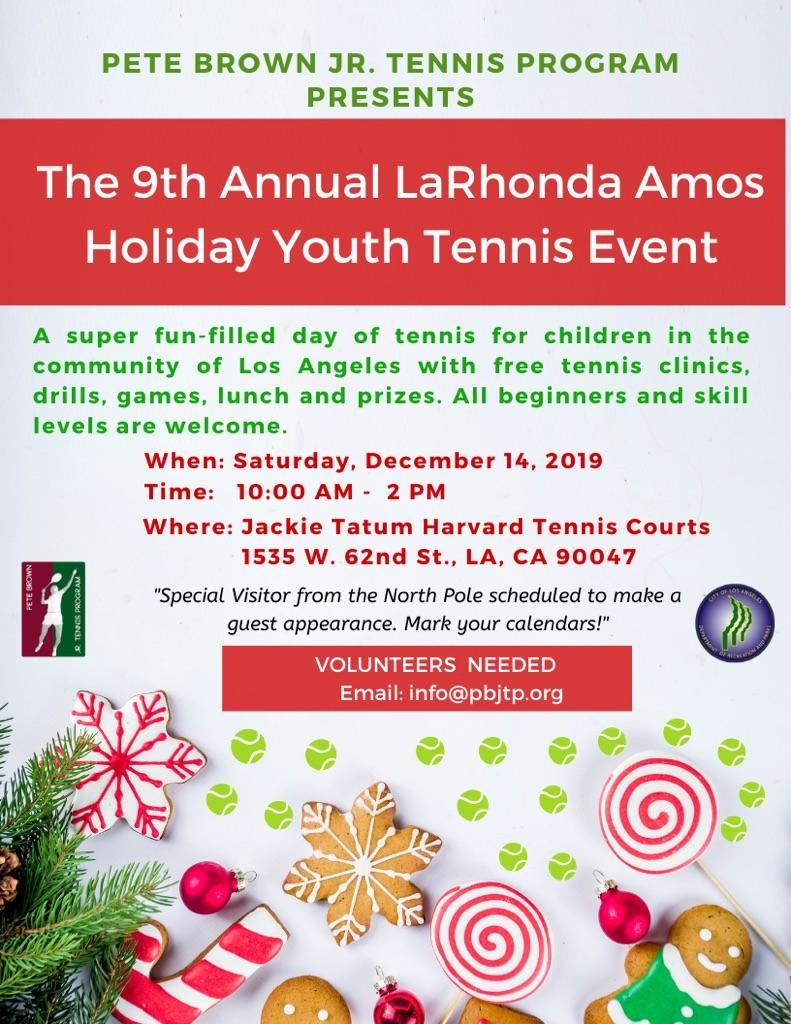 Holiday Youth Tennis Event