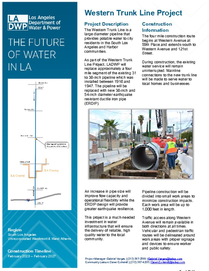 thumbnail of Fact Sheet_WESTERN TRUNK LINE 12-3-19