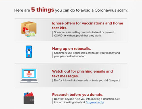 Avoid COVID Scams