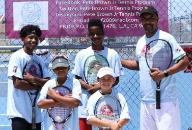Pete Brown Jr. Tennis Participants