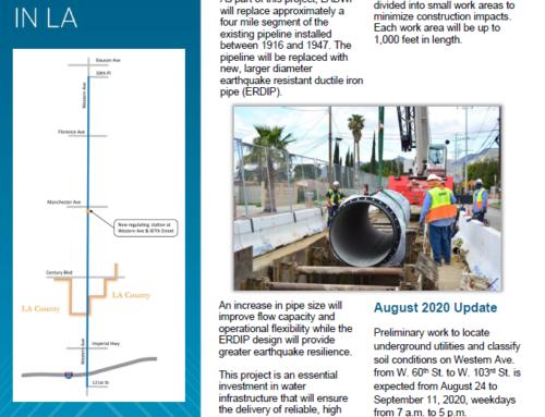Western Water Trunk Line Project to Begin
